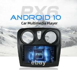 4G+64G Autoradio GPS Navi HDMI DAB For Renault Dacia Logan 2 Sandero 2012-2017