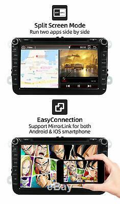 4G+64G Autoradio GPS Sat Navi For VW Jetta/Passat CC B6 /Golf/Tiguan/Polo Wifi