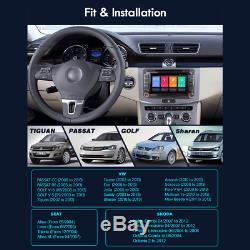 4G Android 8.1 DVD GPS Navi Autoradio Pour VW Passat Touran Golf 6 Tiguan Polo