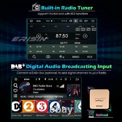 64GB 2Din Stéréo Android 10.0 Autoradio Bluetooth GPS Navi DSP WiFi TNT DAB+OBD2