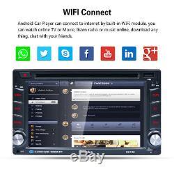 6.2 2 DIN Android Autoradio GPS Navi Radio Stéréo Voiture DVD Player FM/RDS BT