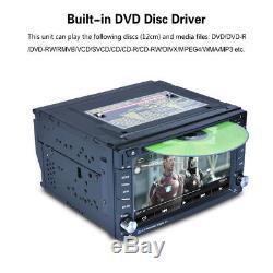 6.2 AUTORADIO 2 DIN GPS NAVI DVD BLUETOOTH ANDROID 6.0 3G WIFI Voiture Stéréo