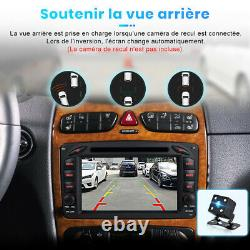 7Android10 Autoradio Pour Mercedes Benz W203 W209 GPS Navi DVD Player WiFi DAB+
