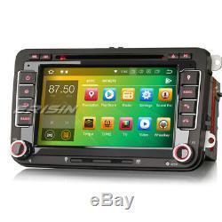 7Android 8.0 Autoradio Navi CD DAB+GPS for PASSAT GOLF TOURAN JETTA SKODA SEAT