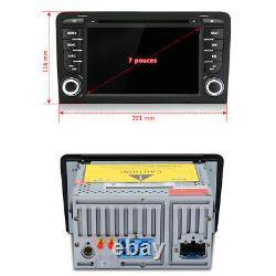7Android Autoradio Pour Audi A3 S3 RS3 2003-2012 Bluetooth GPS Navi CD WIFI USB