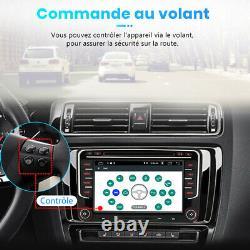 7Autoradio GPS NAVI DVD Android 10 DSP Pour VW GOLF 5 PASSAT TOURAN TIGUAN POLO