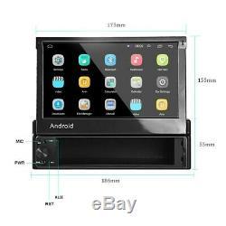 7 1 DIN Autoradio GPS Bluetooth Android Navi Stereo MP5 Écran Tactil + Caméra