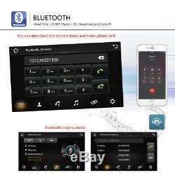 7 2 DIN Android 8.1 Autoradio GPS NAVI WIFI Bluetooth Pour VW GOLF PASSAT POLO