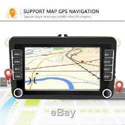 7 2 DIN Android 8.1 WIFI Autoradio GPS NAVI Bluetooth Pour VW GOLF PASSAT POLO