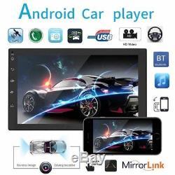 7 ANDROID 8.1 AUTORADIO 2 DIN GPS NAVI BLUETOOTH + carte + vue arrière caméra