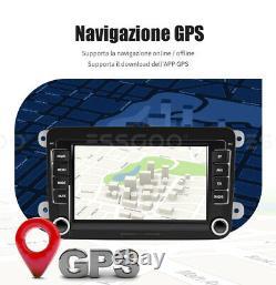 7 AUTORADIO Android 9.1 RDS GPS NAVI Wifi Caméra For VW GOLF 5 6 Variant Passat