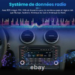 7 Android10.0 Autoradio BT GPS Navi DAB+CD Pour Audi A3 S3 RS3 8P 8V 8PA 2+32GB