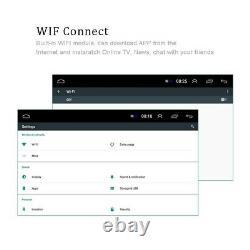 7'' Android 8.1 Autoradio GPS Navi Bluetooth Écran tactile Wifi MP5 USB FM 1Din