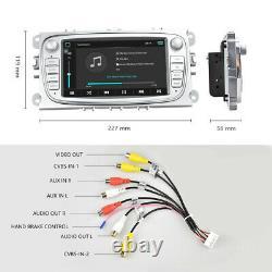 7 Android 8.1 Autoradio GPS Navi Wifi Pour Ford Focus Mondeo Galaxy S-MAX Kuga
