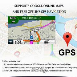 7 Android 9.0 Autoradio DAB GPS Navi Bluetooth DVD Opel Zafira Vivaro Vectra C