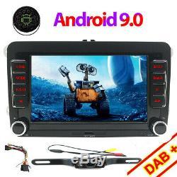 7 Android 9.0 Navi GPS SD Autoradio Pour Vw t5 Transporteur Multivan DAB+ OBD