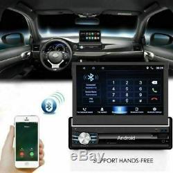 7 Autoradio 1Din Android Stéréo MP5 Player FM AUX GPS Navi BT WIFI 16G+Caméra
