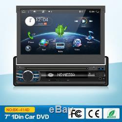 7 Autoradio 1 DIN Android 7.1 GPS Navi Lecteur DVD MP3 MP5 AUX Bluetooth WLAN