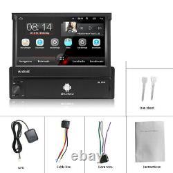 7 Autoradio 1 DIN Android Écran tactile Bluetooth GPS NAVI WIFI AUX FM DVR MP5