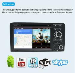7''Autoradio Android 10.0 For Audi A3 S3 RS3 RNSE-PU GPS NAVI 4G CarPlay DAB+OBD