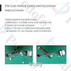 7 Autoradio Android GPS NAVI FM Pour VW POLO Volkswagen PASSAT GOLF 5 6 Caddy