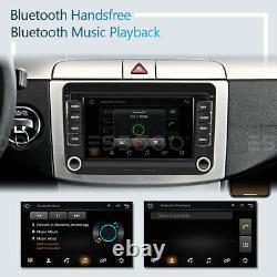7 Autoradio Android RDS GPS NAVI DAB+ Box Pour VW GOLF 5 6 Passat Touran Polo