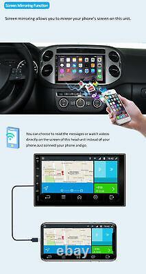 7 Autoradio GPS Navi Android 10.0 Car Stereo Audio Wifi AUX DAB Camera Map RDS