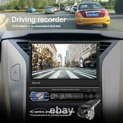 7'' Autoradio GPS Navi Android 10.1 Bluetooth Écran tactile 1 Din MP5 Player USB