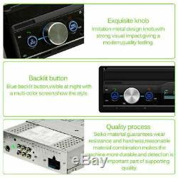 7 Autoradio MP3 MP5 Lecteur 1DIN GPS Navi BT USB FM AUX TF Android Mirrorlink