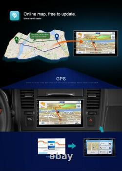 7''Autoradio Stereo Android 10 GPS Navi Radio WIFI 4G BT DAB+ AUX Pour Universal