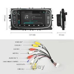 7 Autoradio for Ford Focus Mondeo Galaxy C/S-Max Android 8.1 GPS NAVI USB Wifi
