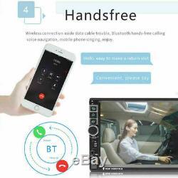 7 Double 2 DIN Autoradio Android 8.1 Quad Core GPS NAVI WIFI 1080P Caméra 3G/4G