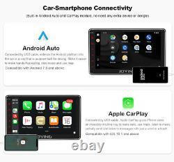 7 Pouces Navigation Android 10 Autoradio Bluetooth 1DIN GPS Navi 64GB FM WiFi