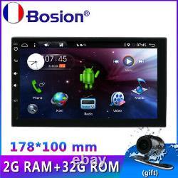 7'' voiture GPS Navi Android 10.0 pour écran tactile universel 4G WIFI BT SWC FM
