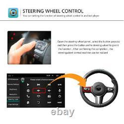 8 2DIN Autoradio Android 8.1 GPS Navi BT FM/AM pour VW GOLF 5 6 Passat+Caméra