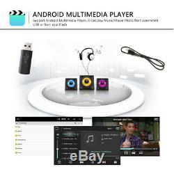 8 2DIN Autoradio Android 8.1 GPS Navi BT FM AM pour VW GOLF 5 V 6 Passat+Caméra
