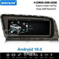 8.8 Android 10.0 IPS Autoradio OBD2 WiFi CarPlay DAB+ Navi Bluetooth 4G Audi Q5