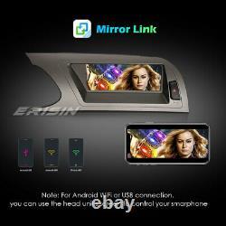 8.8 Android 10 IPS Autoradio GPS WiFi DAB+CarPlay Navi 4G RDS Audi A4 2009-2012