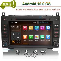 8 Android 10 Car DVD GPS Navi Autoradio For Mercedes Sprinter Viano Vito W639