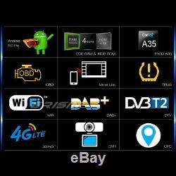 8 Android 9.0 DAB+Autoradio pour VW Passat Golf 5 Polo Caddy Tiguan Eos T5 Navi