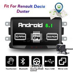 8 Autoradio Android Bluetooth GPS Navi +Caméra For Renault Dacia Duster Logan