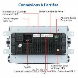 8 Autoradio Android GPS Navi 2 DIN + Caméra Pour Renault Dacia Duster/Sandero