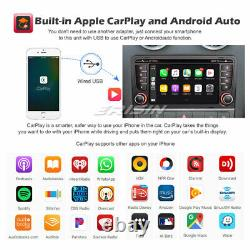 8-Core Android 10.0 Autoradio DSP CarPlay Navi WiFi OBD2 AUDI A3 S3 RS3 RNSE-PU