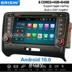 8-Core Android 10.0 CarPlay Autoradio DSP DAB+ Navi WiFi OBD2 Bluetooth AUDI TT