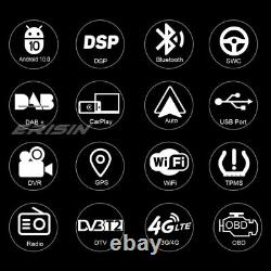 8-Core Android 10.0 DSP Autoradio WiFi CarPlay WiFi DAB+ Navi Renault Megane II