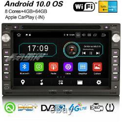 8-Core Android 10 Autoradio For VW Polo Passat B5 Golf 4 Jetta T5 LUPO SEAT Navi
