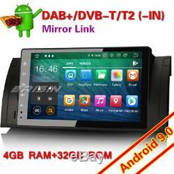 8-Core Android 9.0 Autoradio GPS TNT DVR Wifi BMW 5 Series E39 E53 X5 M5 Navi 4G