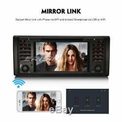 8-Core Android 9.0 Autoradio TNT GPS DAB+Wifi 4G Navi BMW 5 Series E39 X5 M5 E53