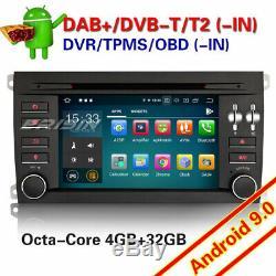 8-Core Android 9.0 PORSCHE CAYENNE Autoradio Navi WiFi TNT CD OBD DAB+ Bluetooth