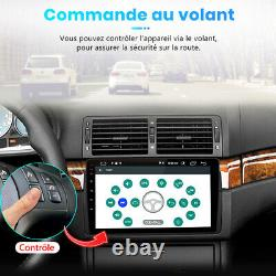 9Android10 Autoradio Pour BMW E46 M3 3er 320 Rover75 MG ZT Navi GPS DAB+ WIFI